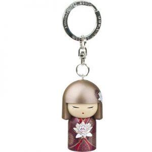 Kimmidoll 3D Kulcstartó - Satoko, baba mérete: 5cm