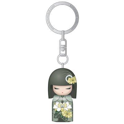 Kimmidoll 3D Kulcstartó - Tsuki, baba mérete: 5cm