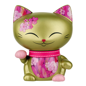 Kimmidoll Cica persely 15 - GOLD
