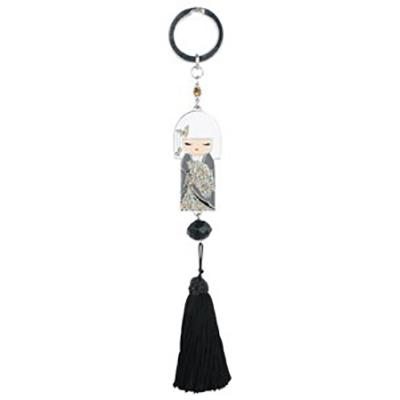 Kimmidoll 3D Kulcstartó – Chisato, Swarovski kristályokkal díszatett. Méret: 16,5cm