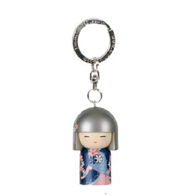 Kimmidoll 3D Kulcstartó – Sonoko, baba mérete: 5cm