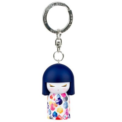 Kimmidoll 3D Kulcstartó - Mihoko, baba mérete: 5cm