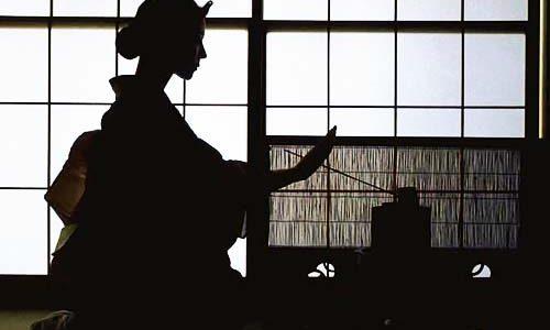 Teázás Japánban